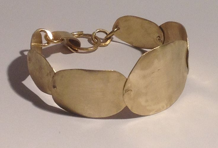 Zizi creation - brass bracelet