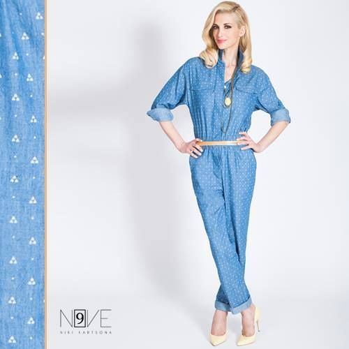 Κάνε upgrade στη γκαρνταρόμπα σου με την πιο hot ολόσωμη, τζιν φόρμα! #KOOLFLY #N9ve