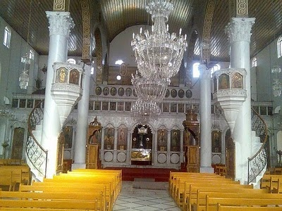 #Syria The Greek Orthodox Patriarchate of Antioch and its Cathedral in Damascus