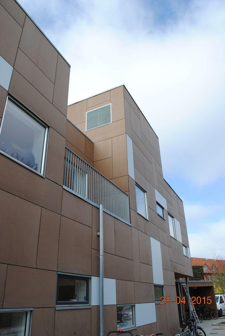 Rockpanel Natural - Børnehuset 'De 7 have' Arkitekt - Vandkunsten
