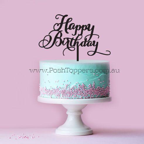Happy Birthday Swirly