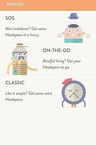 Headspace | 14 Amazing Apps For Anyone Living With Anxiety