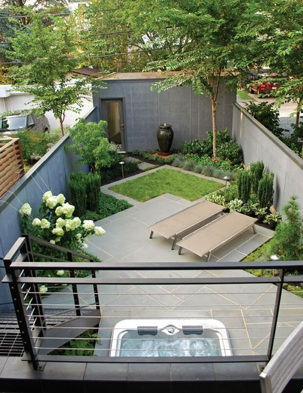 41 backyard design ideas for small yards - Small Backyard Design Ideas