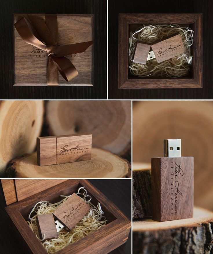 Creative wedding packaging ideas. This is my  brand new design for delivering the wedding photos to clients. Wooden USB flash drive. www.peterhermanphotography.com