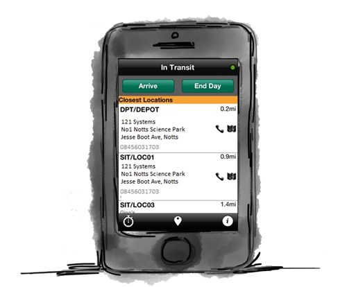 MobileCast - MobileCast On Track is a mobile phone based solution designed to assist an enterprise in tracking mobile field based resources whilst providing metrics for management.