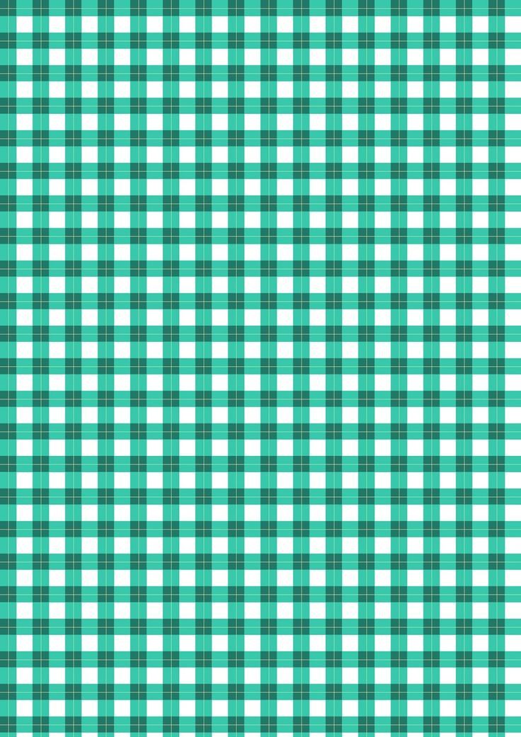 FREE printable #gingham pattern paper ^^ #tartan #checkered #woodland