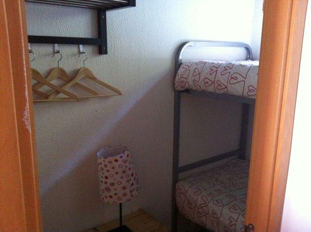 Otra de las habitaciones con literas del bungalow Tipo Dúplex
