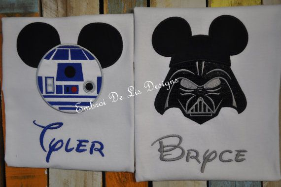 R2D2-Star Wars-StarWars Shirt-Star Wars R2D2 Onesie-Star Wars Embroidery Applique-Star Wars Disney Shirt!