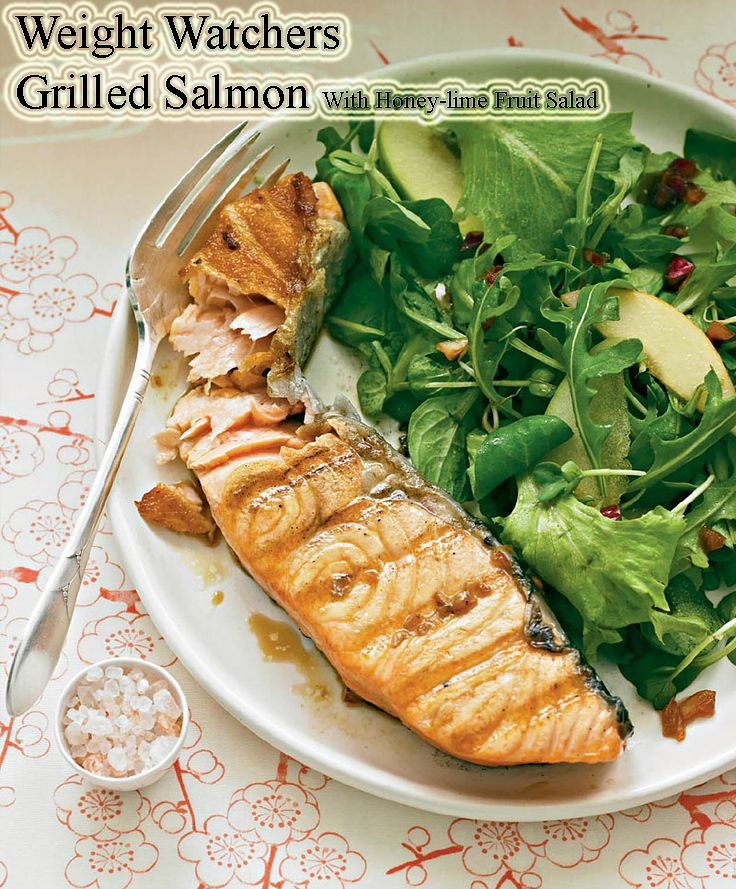 weight watchers recipes with points grilled salmon with