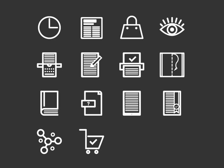 Infographic icons by Maria Nora Arnone - Dribbble