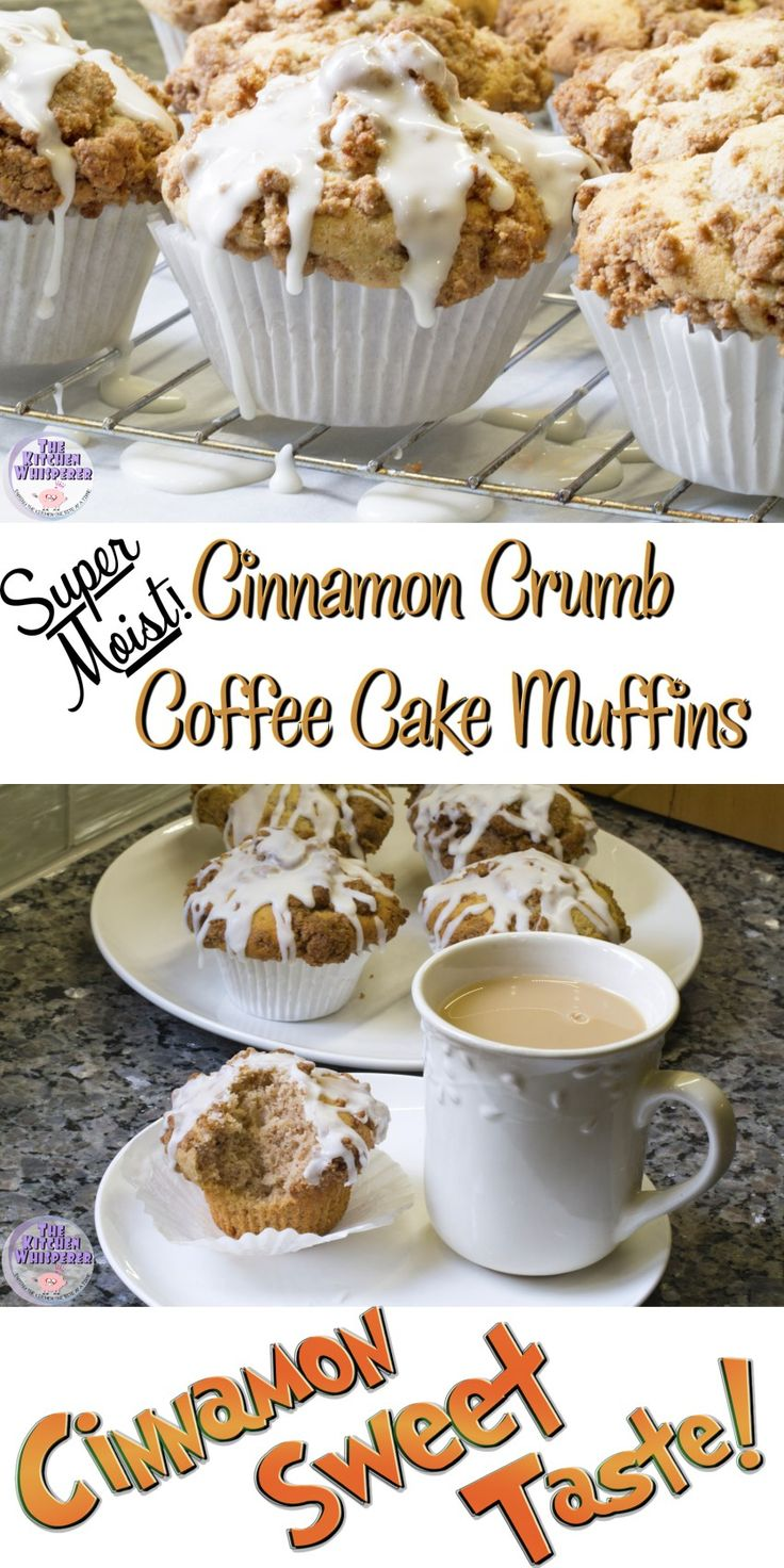 Cinnamon Crumb Coffee Cake Muffins - Fall is here which means it's the perfect weather for a great cup of coffee, these super moist Cinnamon Crumb Coffee Cake Muffins (with secret ingredient!) and Dunkin' Donuts® Coffee Creamers!  #DunkinCreamers #collectivebias #ad