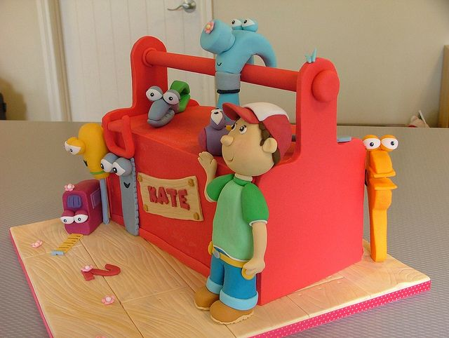 Handy Manny by Sweet Treacle, via Flickr