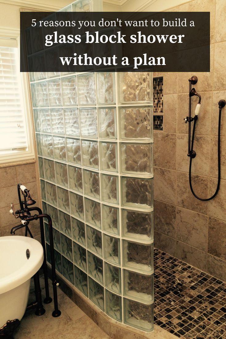 Best 25+ Glass block shower ideas on Pinterest | Glass blocks wall ...