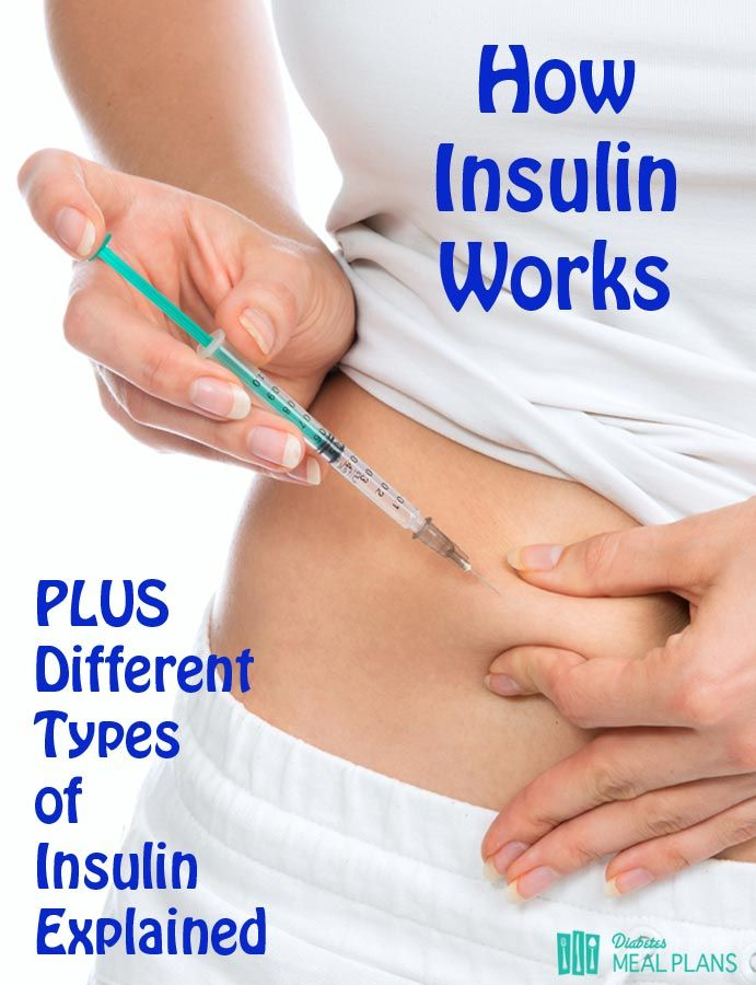 How Insulin works: Different Types of Insulin Explained for TYPE 2 DIABETICS