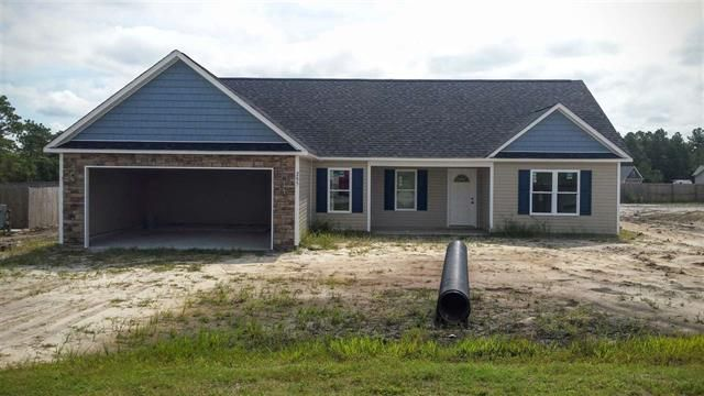 $5000 TO BUYERS!! New Construction in HUBERT, NC   ***Welcome to your new home***   Call or Text me at 910-265-1799  William Sanders Broker Coldwell Banker Fountain Realty