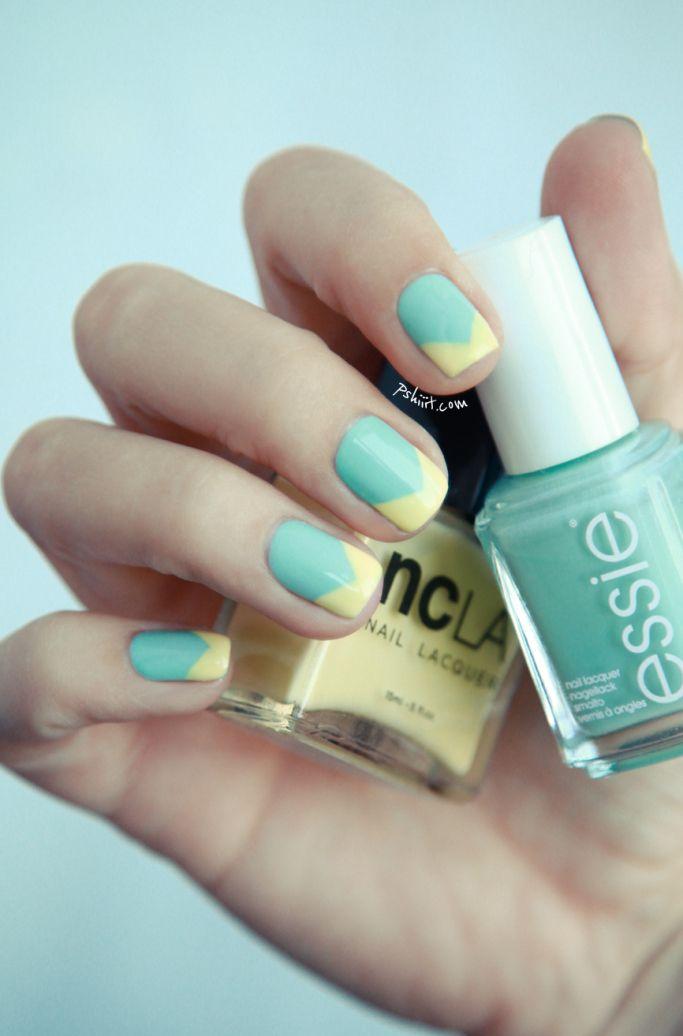 (Tuto) Nail art facile et printanier | PSHIIIT