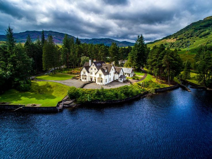 Loch Lomond House - I would like to live here!