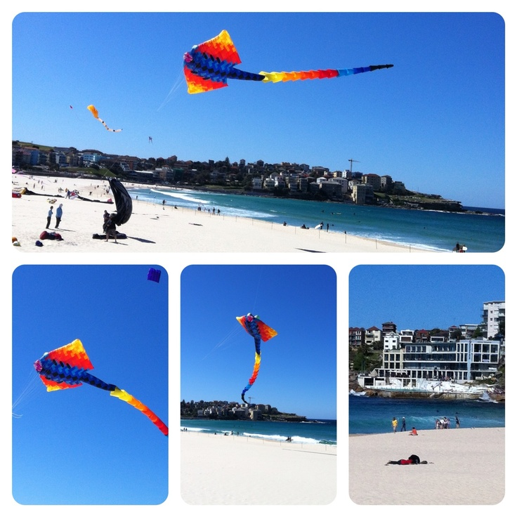 #Bondi Beach spring time Kite festival