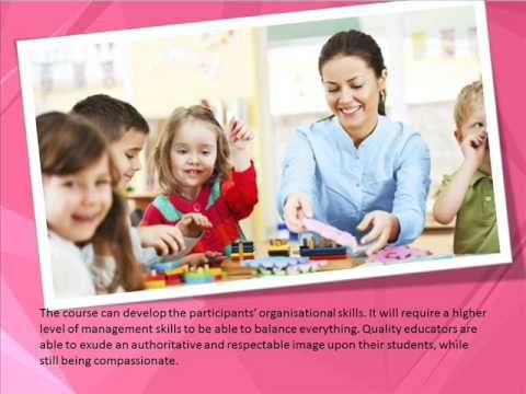 https://goo.gl/8Go4g6 The diploma in early childhood education will impart a series of traits in each student such as patience, creativity, enthusiasm, and p...