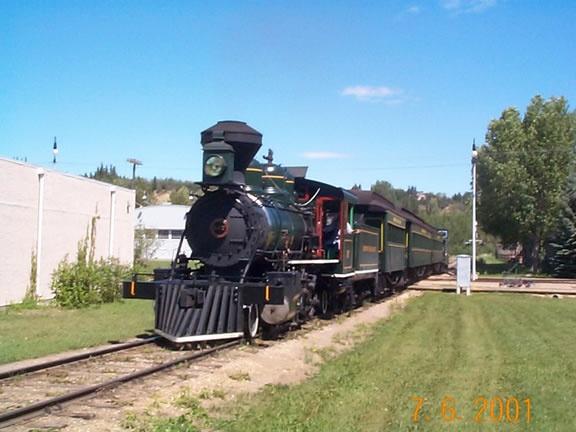 Train at Ft. Edmonton