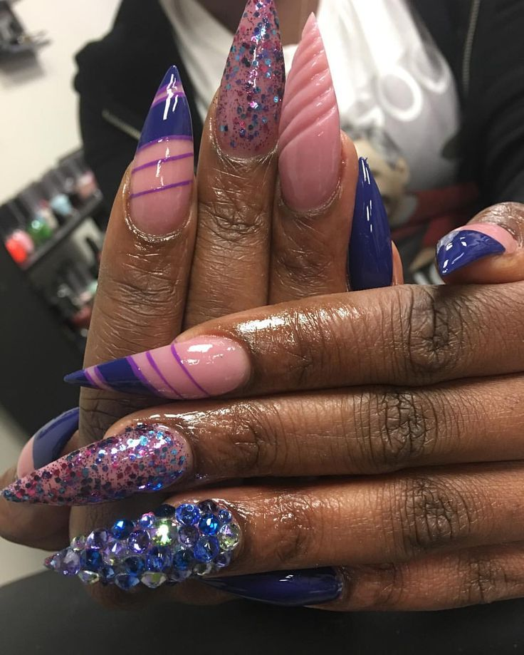 Nail Girl Games: 805 Best Black Girl Nails Images On Pinterest