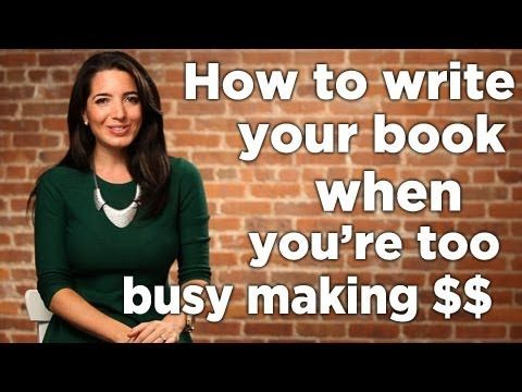 How To Write A Book With No Writing Time ... Is there a secret to get your book written, especially when you have little writing time? Have you ever asked yourself the question, can I even write a book?