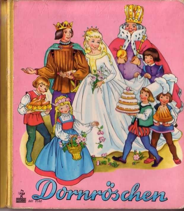 Dornröschen Bilderbuch Pestalozzi - 60er www.eichwaelder.de