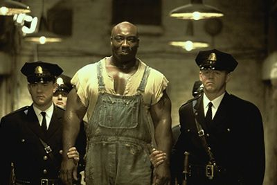 The Green Mile...one of the best movies ever; acceptance of death and as Tom Hanks says at the end....Yes, in deed, we are walking our own green mile....