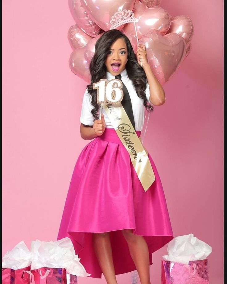 Inside Look at Bring It! Star Faith Thigpen Sweet 16 Photo