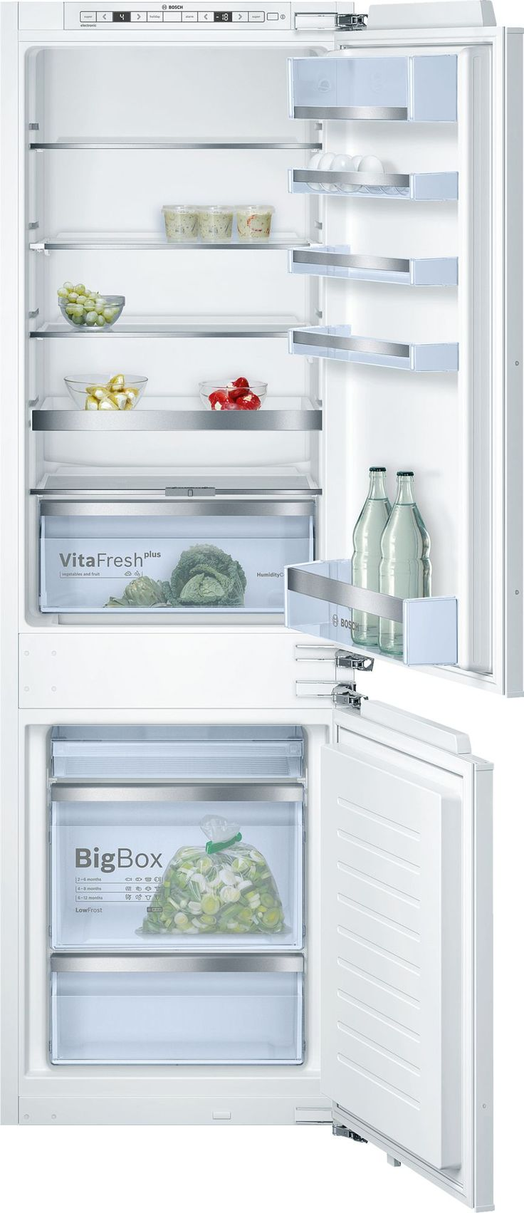 11 best integrated fridge images on Pinterest | Integrated fridge ...