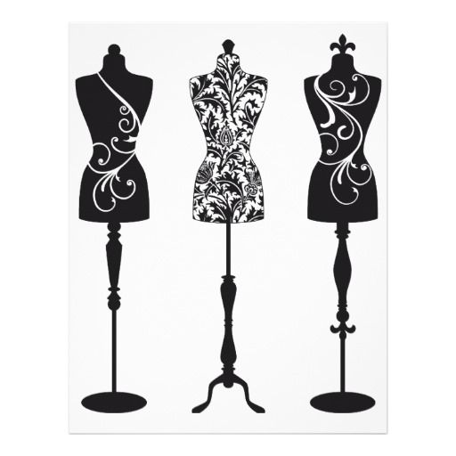Silhouettes clothing store