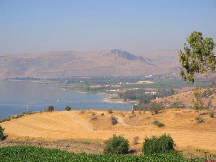 Israël - lac de Tibériade (mer de Galilée ou Kinneret en hébreu),