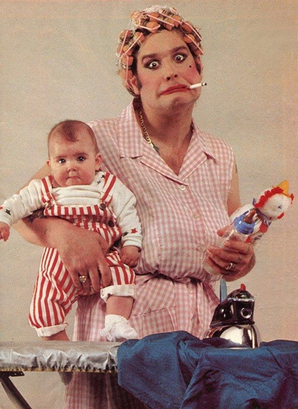 Ozzy Osbourne the master that baby is his daughter Aimee