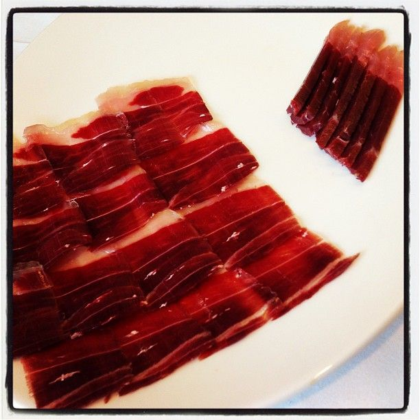 3yr old Iberico Jamon #filthygoodfood ping @adamrozencwajg you should have stayed! ;-)