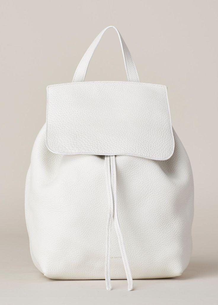 Mansur Gavriel Backpack (White)