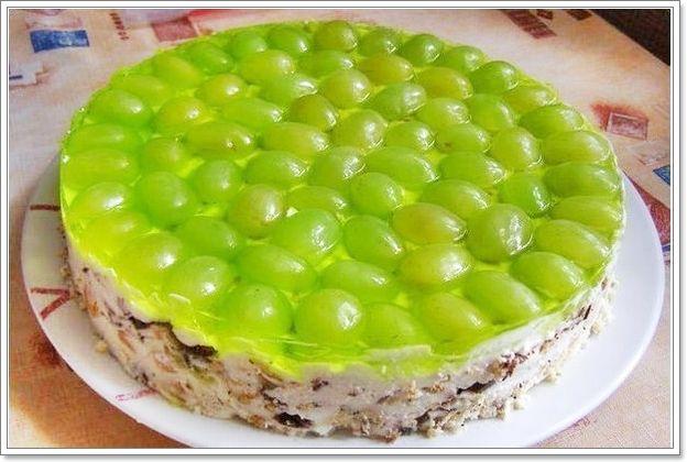 торт без выпечки 2