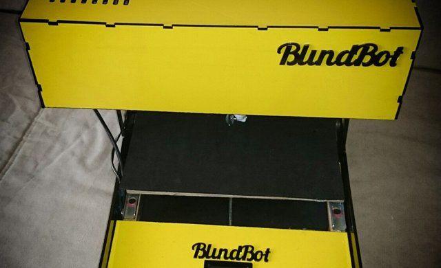 BlindBot. Принтер Брайля для слабовидящих