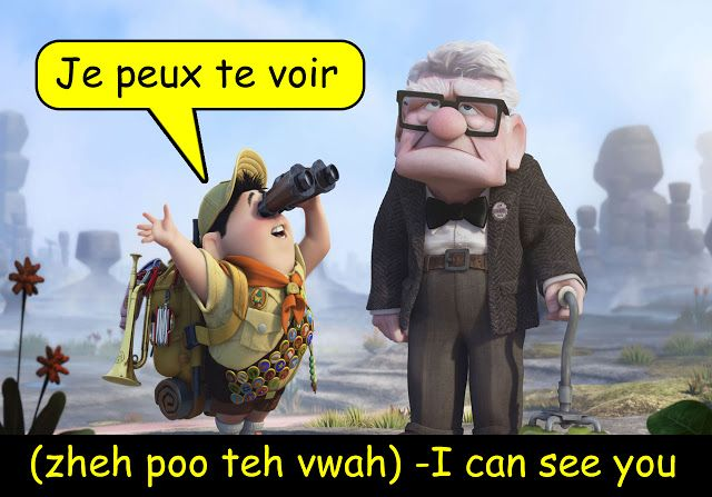 Let's Learn French Together: Children's Phrase of the Day -I Can See You