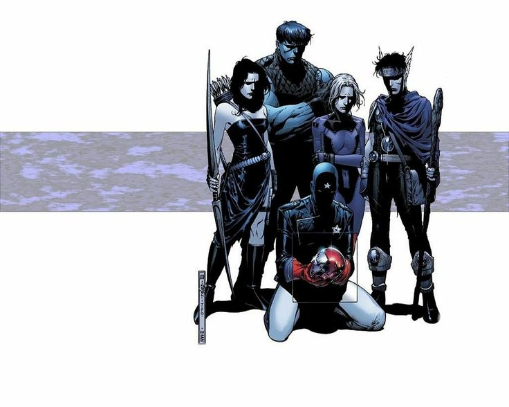 65 best images about Comic Book Art - Young Avengers on ...
