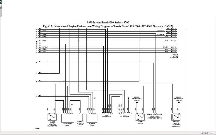 Graphic Diagram International Truck, 4900 International Truck Wiring Diagram