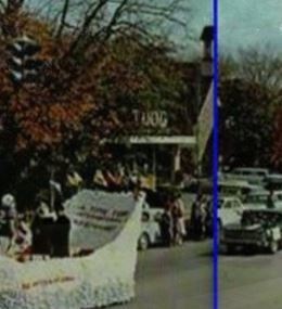 Parade Shot Of Todd Furniture Store. Cropped From Previous Photo. MTSU  Homecoming Parade;