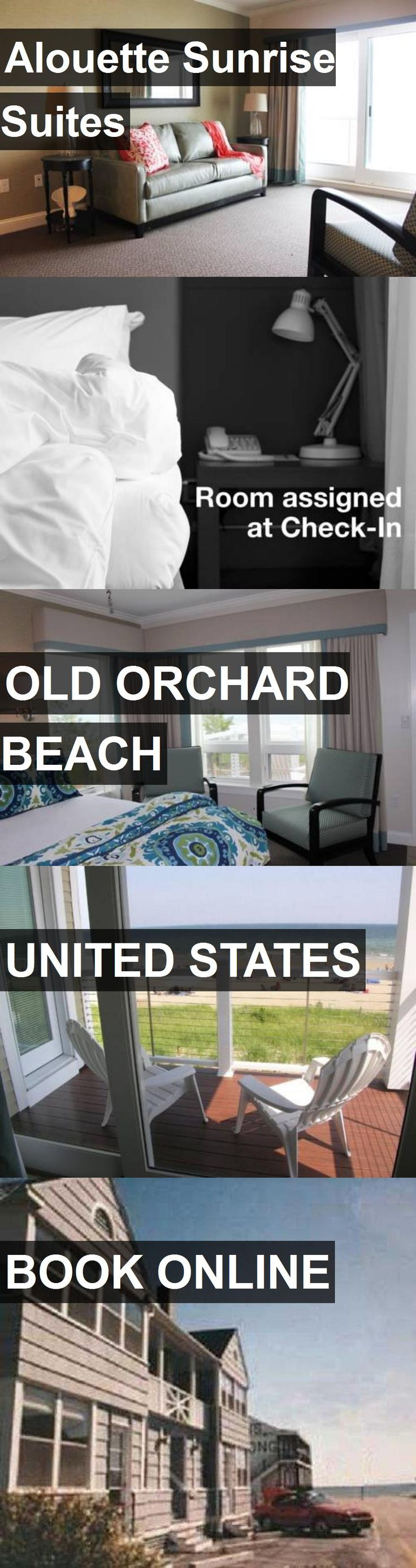 Hotel Alouette Sunrise Suites in Old Orchard Beach, United States. For more information, photos, reviews and best prices please follow the link. #UnitedStates #OldOrchardBeach #hotel #travel #vacation
