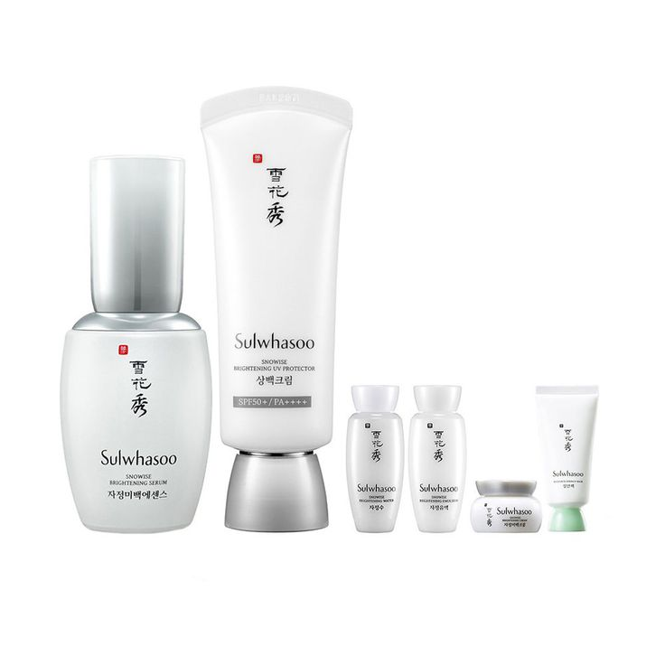 KOREAN Sulwhasoo Snowise Brightening Duo Set (Brightening Serum & UV Protector) #Sulwhasoo