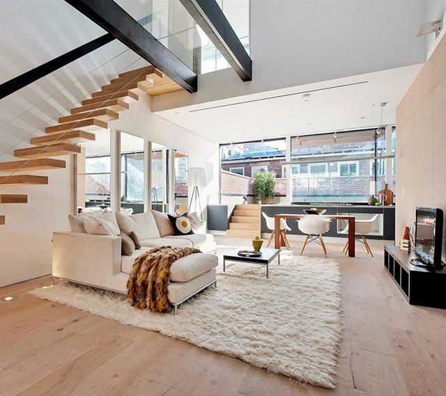Best Staircases Balustrades Images On Pinterest Staircases - Suspended style floating staircase ideas for the contemporary home