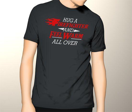Black+Men's+Tshirt+For+Firefighter+Fireman+Fire+Fighter+Fire+Department+Black+Shirt+For+Men