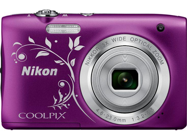 NIKON Coolpix S2900 Line Art lila digitális fényképezőgép - Media Markt online vásárlás