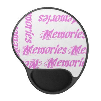 Pink Memories Gel Mouse Pad