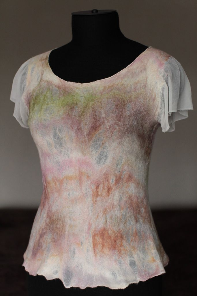 Nuno Felted Top | Flickr - Photo Sharing!