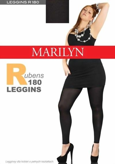 Cool Sorte Leggings 180 Denier Marilyn Modetøj til Damer i behagelige materialer