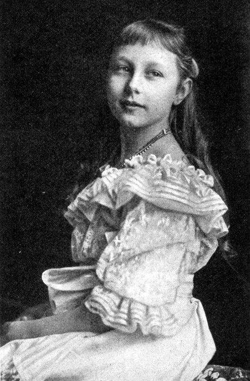 Princess Viktoria Luise of Prussia in 1902; she lived until 1980.  What a lot she must have experienced.  She married Ernest Augustus, Duke of Brusnwick, and was the mother of five children, including Princess Frederika, who became Queen of Greece.